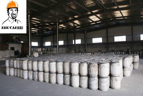 消失模涂料能吸附浇注时发生热分解气体